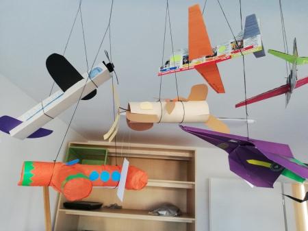 Rozstrzygnięcie konkursu - Samoloty z papieru